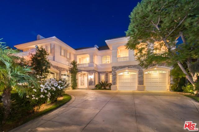 19208 Briarfield Way, Tarzana, CA 91356 (#18316210) :: Golden Palm Properties