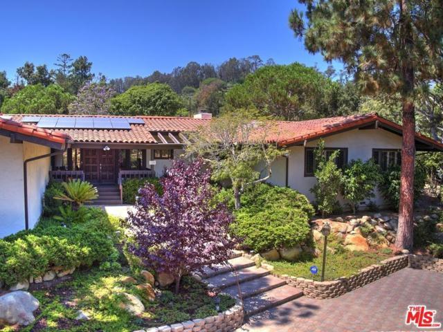 120 Summit Lane, Santa Barbara, CA 93108 (#18316322) :: Golden Palm Properties