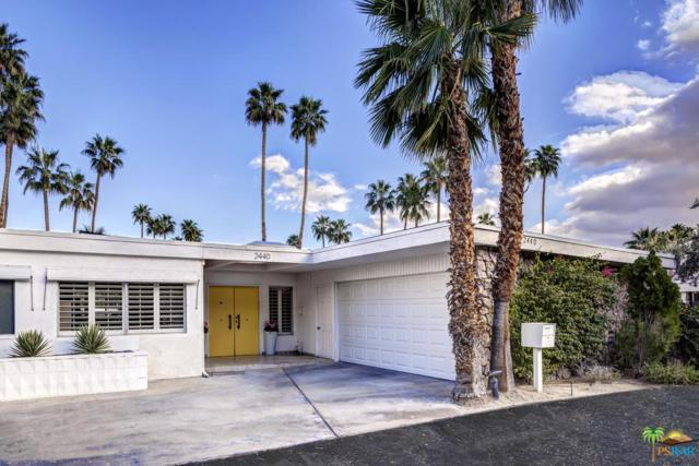 2440 S Palm Canyon Drive, Palm Springs, CA 92264 (#18317080PS) :: TruLine Realty