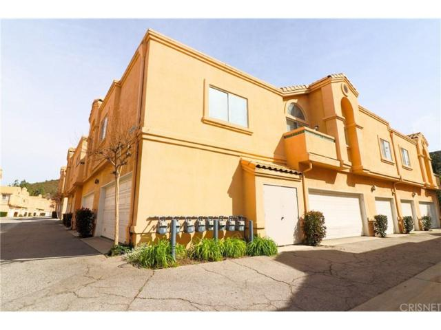 18826 Vista Del Canon F, Newhall, CA 91321 (#SR18058431) :: The Real Estate Offices of Talbot and Watson