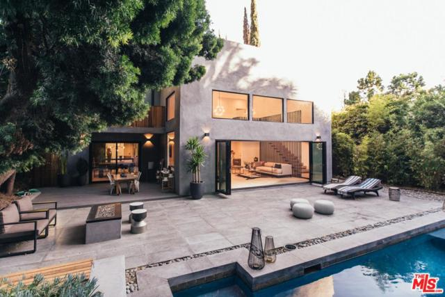 1465 Benedict Canyon Drive, Beverly Hills, CA 90210 (#18323338) :: The Fineman Suarez Team
