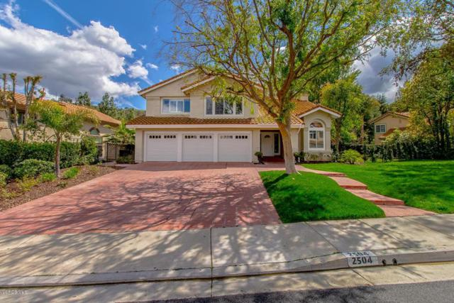 2504 Three Springs Drive, Westlake Village, CA 91361 (#218003153) :: Lydia Gable Realty Group
