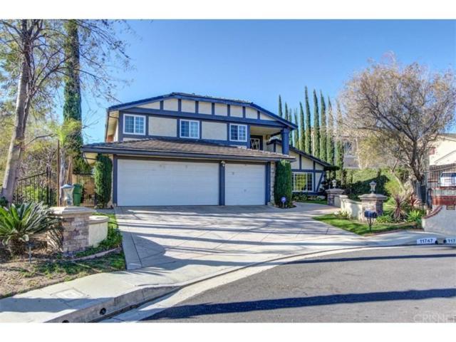 11747 Castillo Lane, PORTER RANCH, CA 91326 (#SR18051668) :: The Fineman Suarez Team