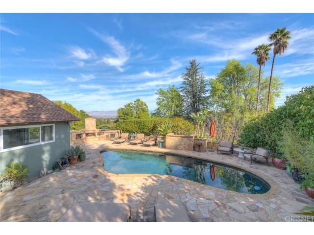 16640 Chaplin Avenue, Encino, CA 91436 (#SR18063675) :: Golden Palm Properties