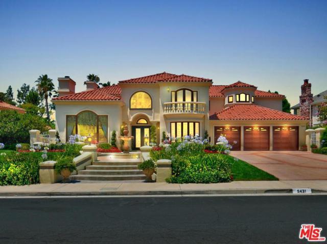 5431 Newcastle Lane, Calabasas, CA 91302 (#18334786) :: Golden Palm Properties