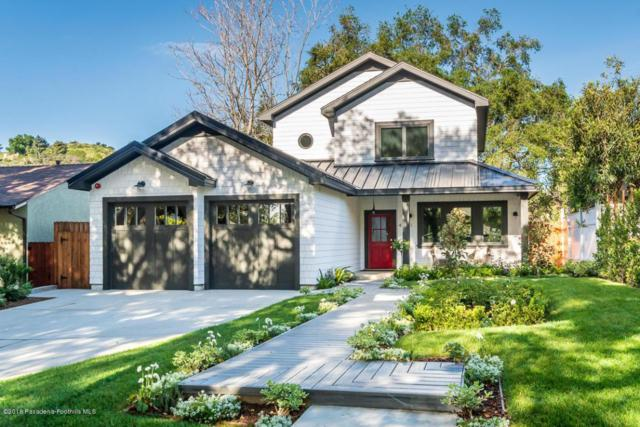 4321 Bel Air Drive, La Canada Flintridge, CA 91011 (#818001844) :: Golden Palm Properties