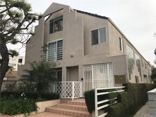 1240 24TH Street #1, Santa Monica, CA 90404 (#SR18095186) :: Paris and Connor MacIvor