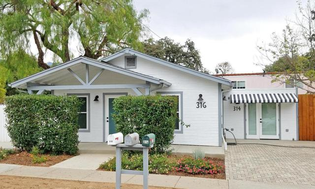 316 N Montgomery Street, Ojai, CA 93023 (#218006215) :: Lydia Gable Realty Group