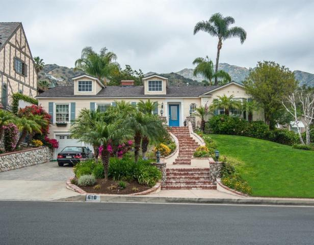 610 S Sunset Canyon Drive, Burbank, CA 91501 (#318001993) :: The Real Estate Offices of Talbot and Watson