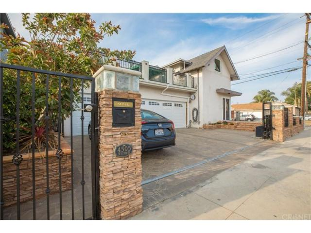 4505 W 115TH Street, Hawthorne, CA 90250 (#SR18121816) :: Desti & Michele of RE/MAX Gold Coast