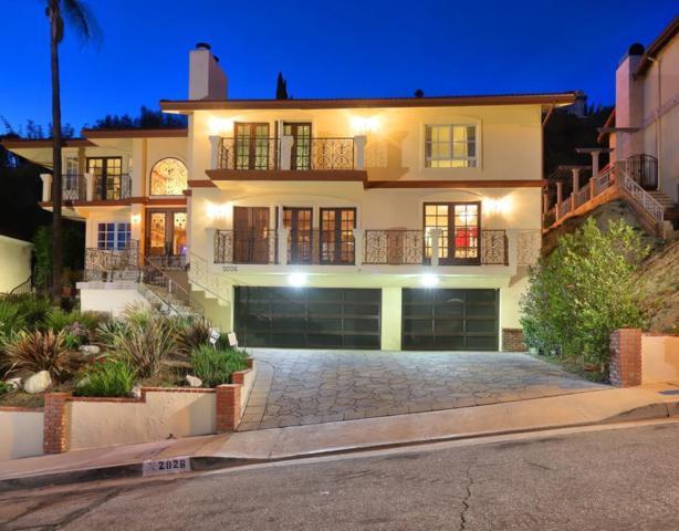 2026 Rimcrest Drive, Glendale, CA 91207 (#318002025) :: Golden Palm Properties