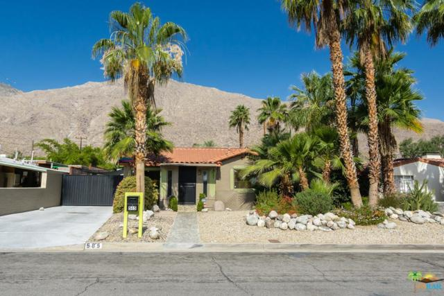 585 S Calle Santa Rosa, Palm Springs, CA 92264 (#18346260PS) :: The Fineman Suarez Team