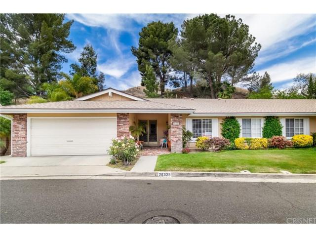 26329 Green Terrace Drive, Newhall, CA 91321 (#SR18138798) :: The Real Estate Offices of Talbot and Watson