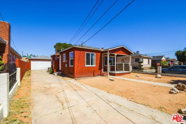 11002 S Truro Avenue, Lennox, CA 90304 (#18354562) :: Fred Howard Real Estate Team