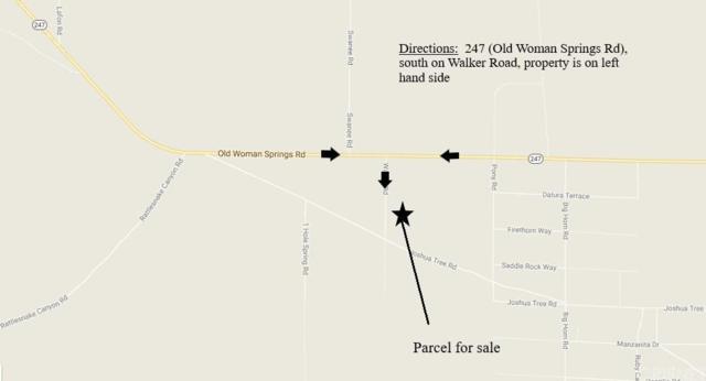 0 Walker Rd / Joshua Tree Rd, Johnson Valley, CA 92285 (#SR18144630) :: Lydia Gable Realty Group