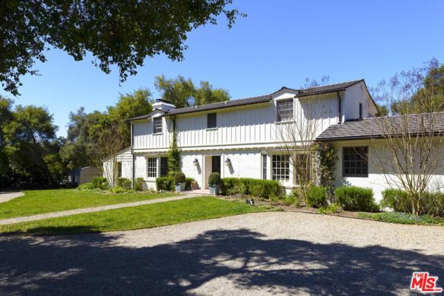 4691 Via Roblada, Santa Barbara, CA 93110 (#18356590) :: Golden Palm Properties