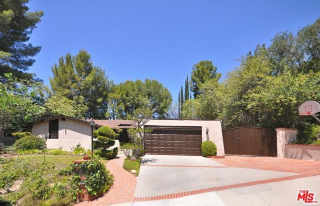 4221 Gayle Drive, Tarzana, CA 91356 (#18355764) :: Golden Palm Properties
