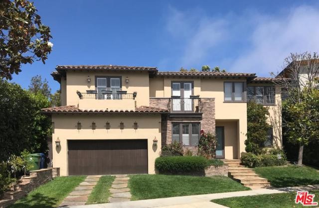 608 Radcliffe Avenue, Pacific Palisades, CA 90272 (#18357618) :: Golden Palm Properties
