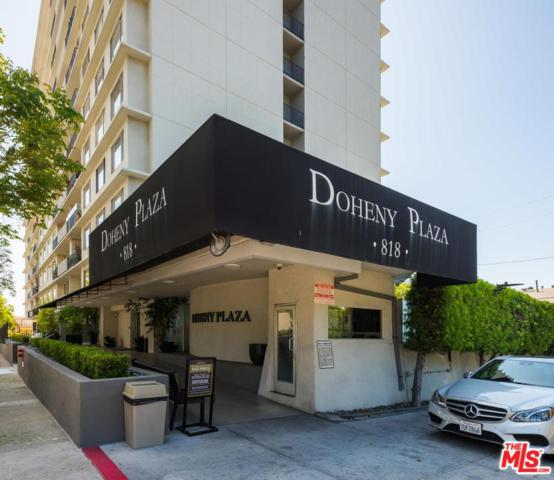 818 N Doheny Drive #707, West Hollywood, CA 90069 (#18355864) :: Golden Palm Properties