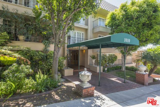 1010 Palm Avenue #205, West Hollywood, CA 90069 (#18357658) :: Golden Palm Properties