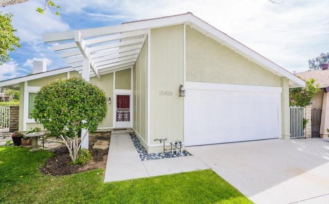 25426 Via Labrada, Valencia, CA 91355 (#SR18162010) :: Heber's Homes