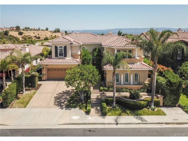 20112 Via Cellini, Northridge, CA 91326 (#SR18163839) :: The Fineman Suarez Team