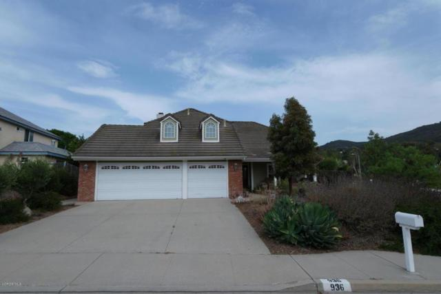 936 Deerspring Place, Newbury Park, CA 91320 (#218008741) :: Lydia Gable Realty Group