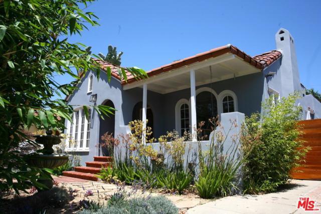 516 N Mansfield Avenue, Los Angeles (City), CA 90036 (#18364656) :: TruLine Realty