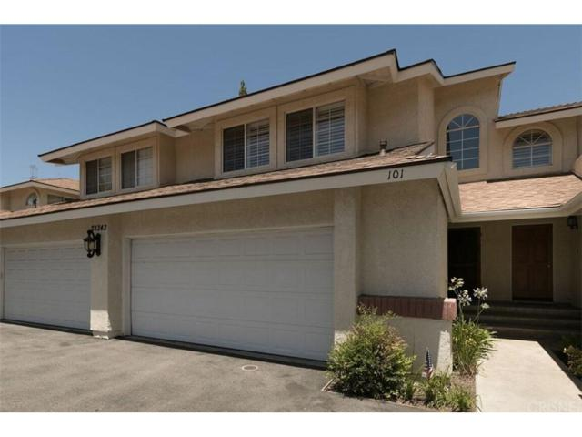 28343 Seco Canyon Road #101, Saugus, CA 91390 (#SR18170025) :: Heber's Homes
