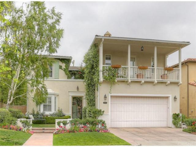 24609 Garland Drive, Valencia, CA 91355 (#SR18152467) :: Heber's Homes