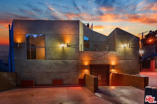 2189 Sunset Plaza Drive, Los Angeles (City), CA 90069 (#18365364) :: The Fineman Suarez Team