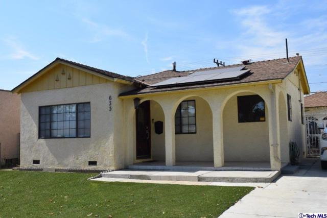 633 Hawthorne Street, Glendale, CA 91204 (#318002838) :: TruLine Realty