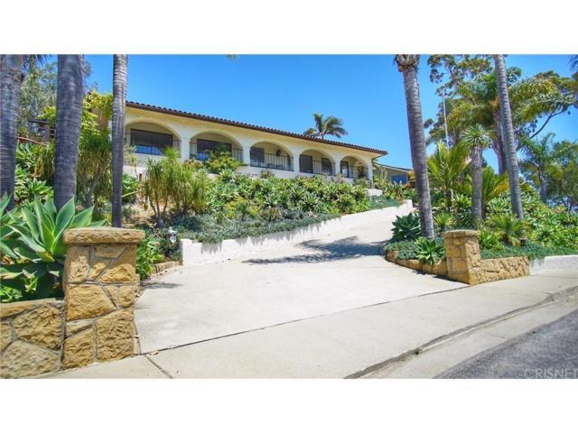 1206 Harbor Hills Drive, Santa Barbara, CA 93109 (#SR18171683) :: Desti & Michele of RE/MAX Gold Coast