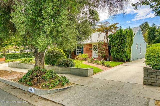 1193 Armada Drive, Pasadena, CA 91103 (#818003579) :: TruLine Realty