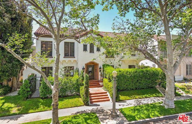 315 N Sycamore Avenue, Los Angeles (City), CA 90036 (#18365804) :: TruLine Realty