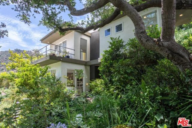 1727 Benedict Canyon Drive, Beverly Hills, CA 90210 (#18366826) :: TruLine Realty