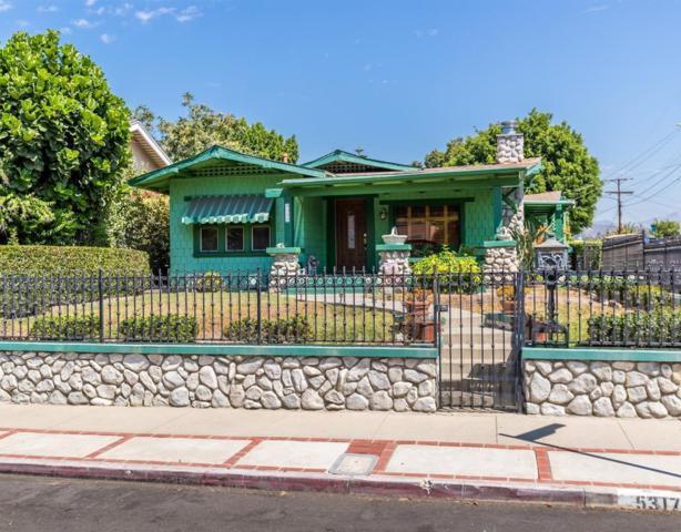 5317 Aldama Street, Los Angeles (City), CA 90042 (#318003287) :: Fred Howard Real Estate Team