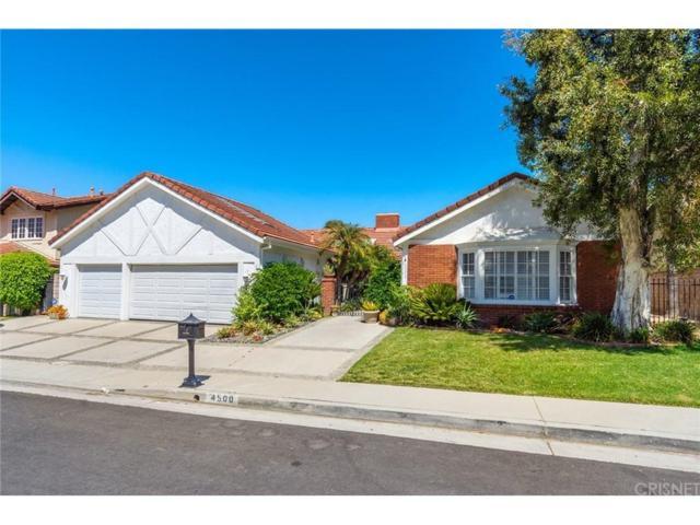 4500 Dulcinea Court, Woodland Hills, CA 91364 (#SR18199824) :: Golden Palm Properties