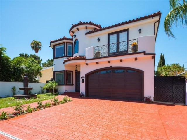 5029 Newcastle Avenue, Encino, CA 91316 (#SR18199660) :: Golden Palm Properties