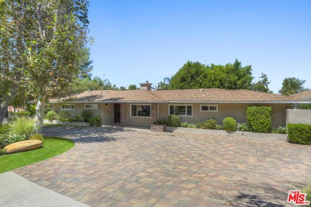 4301 Coronet Drive, Encino, CA 91316 (#18375858) :: Golden Palm Properties