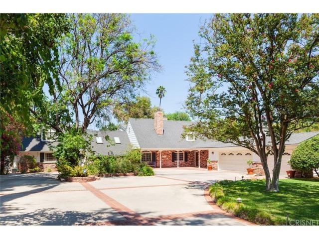 17211 Rancho Street, Encino, CA 91316 (#SR18199963) :: Golden Palm Properties