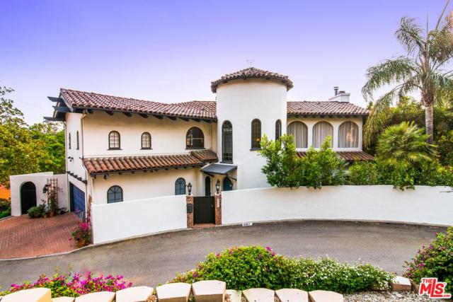 2827 La Castana Drive, Los Angeles (City), CA 90046 (#18376994) :: Golden Palm Properties