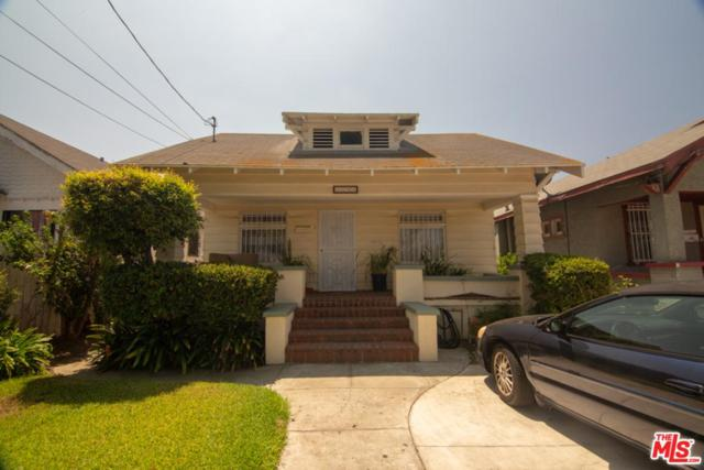 1594 W 35TH Place, Los Angeles (City), CA 90018 (#18377458) :: Golden Palm Properties