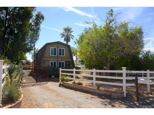 34718 Agua Dulce Canyon Road, Agua Dulce, CA 91390 (#SR18211947) :: The Real Estate Offices of Talbot and Watson