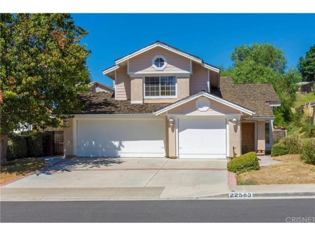 22583 Pamplico Drive, Saugus, CA 91350 (#SR18215439) :: Carie Heber Realty Group