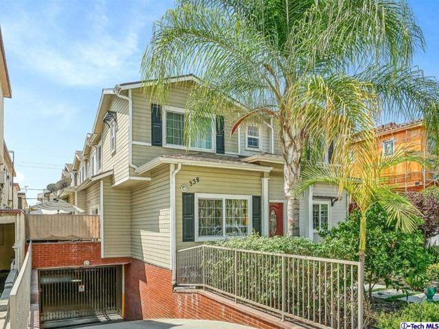 338 Milford Street #105, Glendale, CA 91203 (#318003679) :: Lydia Gable Realty Group