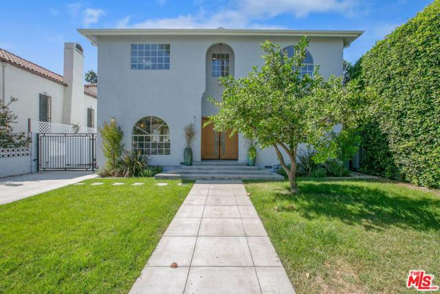 851 S Cloverdale Avenue, Los Angeles (City), CA 90036 (#18387560) :: Fred Howard Real Estate Team
