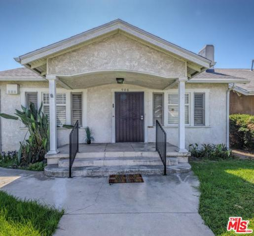 908 W 50TH Place, Los Angeles (City), CA 90037 (#18388412) :: Fred Howard Real Estate Team