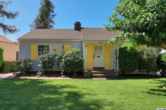 550 Monte Vista Avenue, Glendale, CA 91202 (#318003804) :: Paris and Connor MacIvor