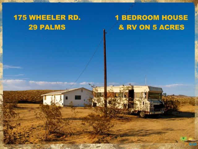175 N Wheeler, 29 Palms, CA 92277 (#18389584PS) :: Paris and Connor MacIvor